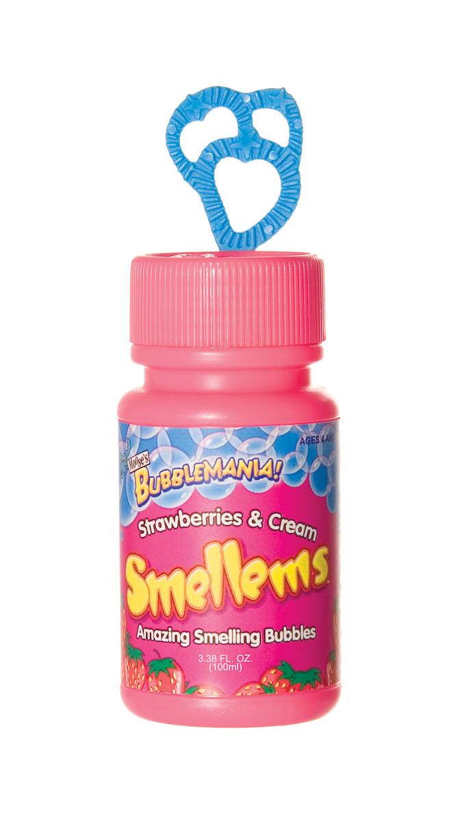 Moose Smellems Bubbles 100ml Strawberries & Cream image