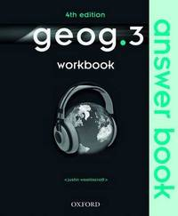 geog.3 Workbook Answer Book by Justin Woolliscroft