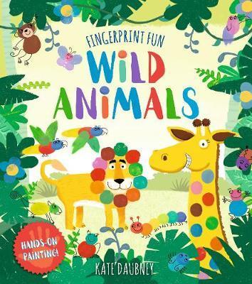 Fingerprint Fun Wild Animals Creative Fun