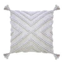 Bambury Tanna Cushion Cover (Silver)