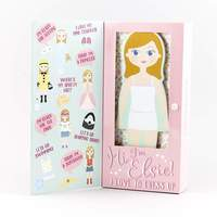 Floss & Rock: Magnetic Dress Up Doll - Elsie