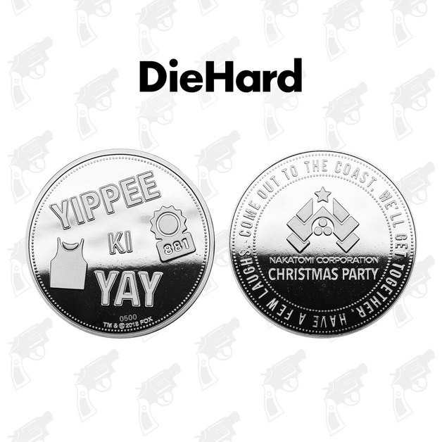 Die Hard: Collectible Coin - Yippee Ki Yay (Silver Edition)