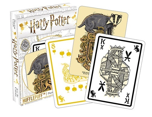 Harry Potter: Playing Card Set - Hufflepuff
