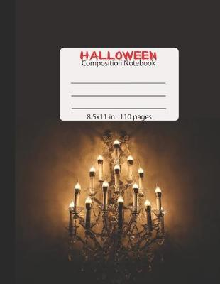 Halloween Composition Notebook by Books by 3am Shopper