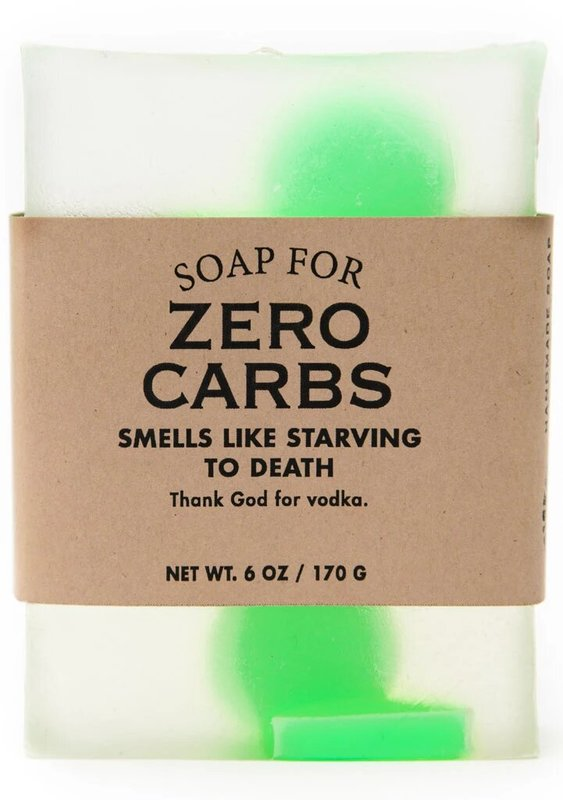 Whiskey River Co: Soap - For Zero Carbs