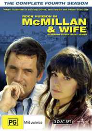 McMillan & Wife - The Complete Fourth Series (3 Disc Set) on DVD