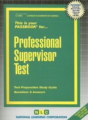 Professional Supervisor Test