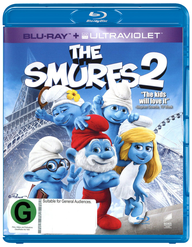 The Smurfs 2 on Blu-ray