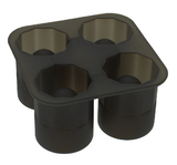 Silicone Ice Shot Glass Mould - Smoke
