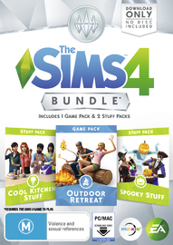 The Sims 4 Bundle Pack 2 (code in box) for PC Games