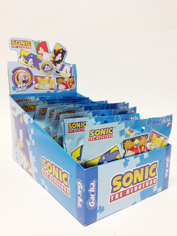 Sonic The Hedgehog Bag Tags At Mighty Ape Nz