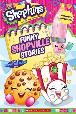 Shopkins: Funny Shopville Stories by Scholastic image
