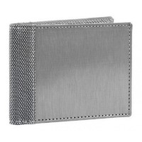 Stewart/Stand Stainless Steel Bill Fold Wallet - (Straight) Silver