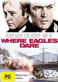 Where Eagles Dare (New Packaging) on DVD image