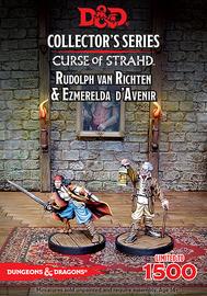 Dungeons & Dragons: Curse of Strahd - Rudolph van Richten & Esmeralda D'Avenir