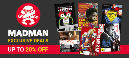 Madman's Exclusive September Deals! Up to 20% off!