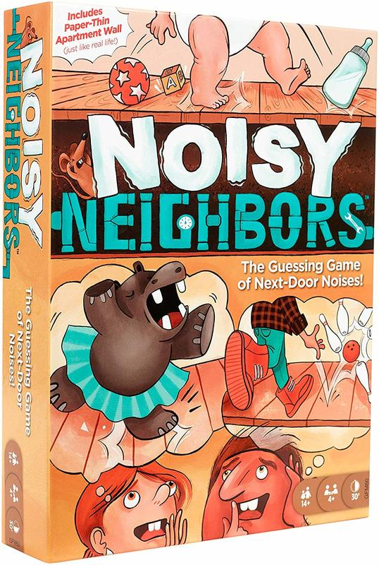 Noisy Neighbours - Card Game