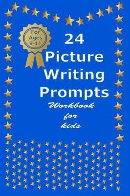 24 Picture Writing Prompts work book for kids by Aldona Design