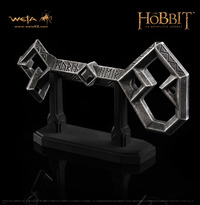 The Hobbit Key to Erebor Prop Replica - by Weta image