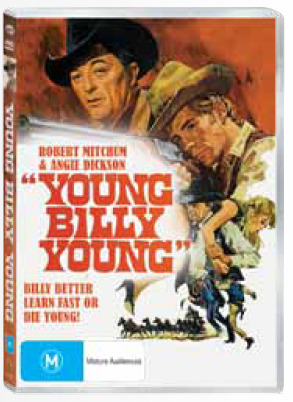 Young Billy Young on DVD