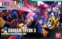 HGBF 1/144 Gundam Tryon 3 Model Kit