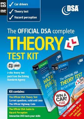The Official DSA Complete Theory Test Kit for Car Drivers by Driving Standards Agency (Great Britain)