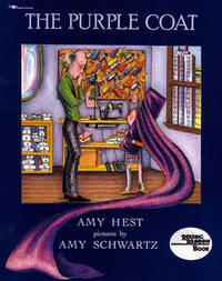 The Purple Coat by Amy Hest image