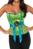 TMNT Sequin Leonardo Corset (Medium)