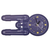 Star Trek Wall Clock (U.S.S. Enterprise NCC-1701)