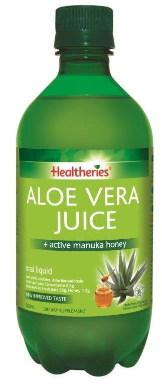 Healtheries Aloe Vera Juice (500ml) image