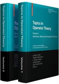 Topics in Operator Theory image