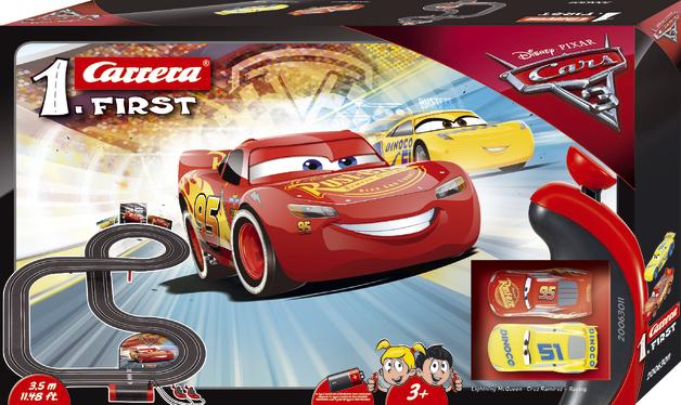 Carrera First: Disney Cars 3 - Slot Car Set #2
