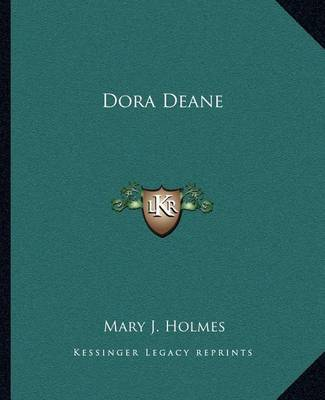 Dora Deane by Mary J Holmes image