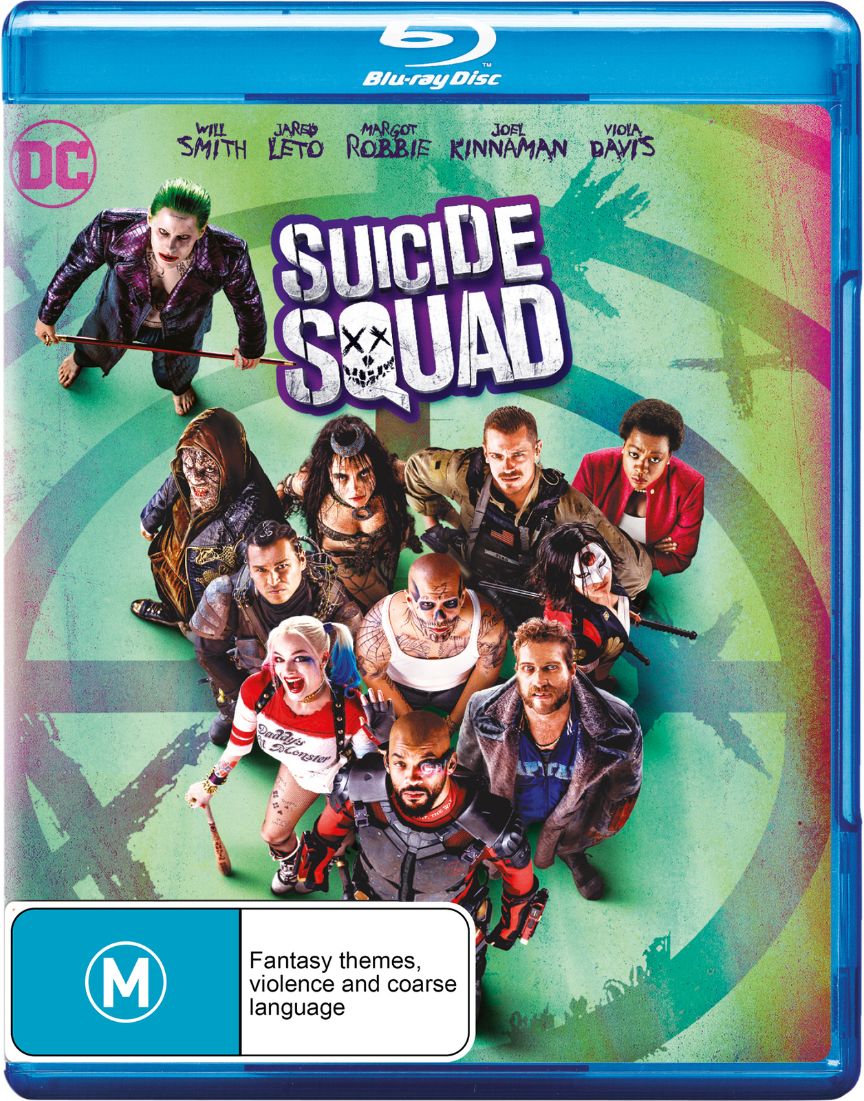 Suicide Squad (2 Disc Extended Edition) on Blu-ray image