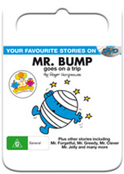 Mr Men & Little Miss: Mr Bump Goes on a Trip on DVD image