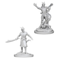 D&D Nolzurs Marvelous: Unpainted Miniatures - Male Tiefling Warlock