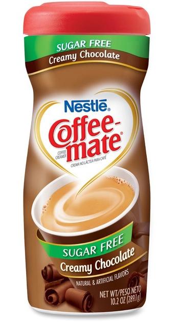 Nestle Coffee-Mate Sugar Free Creamy Chocolate Powder