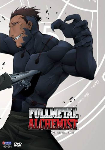 Fullmetal Alchemist Vol 09 - Pain and Lust on DVD