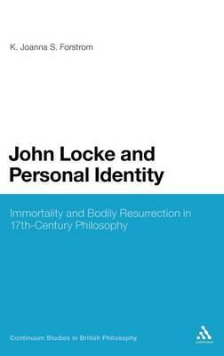 John Locke and Personal Identity by K.Joanna S. Forstrom image