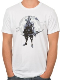 Overwatch Hanzo Redemption through Honor T-Shirt (X-Large)