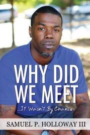 Why Did We Meet? by Samuel P Holloway III