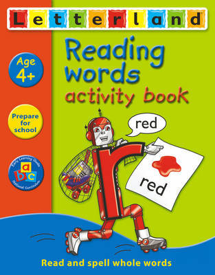 Reading Words Activity Book by Gudrun Freese image
