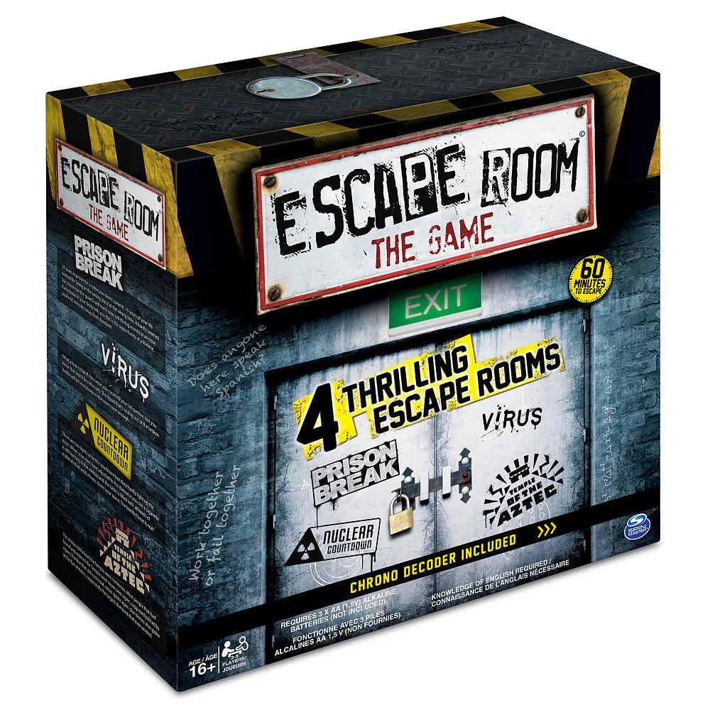 Escape room the board game toy at mighty ape nz for The room escape game
