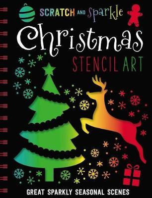 Scratch and Sparkle Christmas Stencil Art | Make Believe Ideas, Ltd