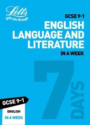 GCSE 9-1 English In a Week by Letts GCSE