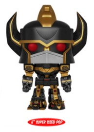 "Power Rangers - Megazord (Black & Gold) 6"" Pop! Vinyl Figure"