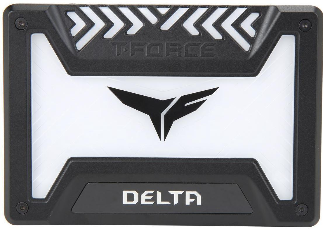 "500GB Team T-Force Delta RGB 3D NAND 2.5"" SSD image"