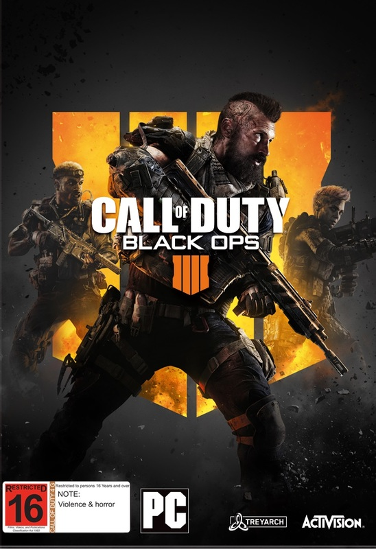 Call of Duty: Black Ops IIII (code in box) for PC