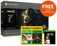 Xbox One X 1TB Fallout 76 Console Bundle for Xbox One
