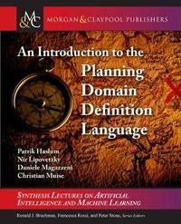 An Introduction to the Planning Domain Definition Language by Patrik Haslum